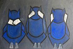 "Saatchi Art Artist Siddharth Malani; Painting, ""Three Wise Monkeys 1"" #art"