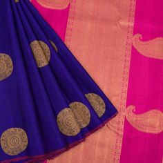 Handloom Jacquard Pure Zari Kanjivaram Silk Saree With Elephant Motifs 10020566 - AVISHYA.COM
