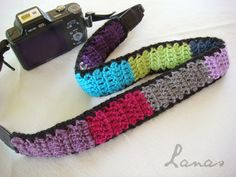Colorful Camera Strap ~ Lanas de Ana