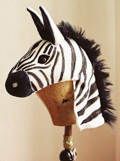 "Zebra maskFor the children's musical ""Das Parlament der Tiere"", Hamburg– made of textile materials"