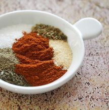 Easy blackened seasoning blend for fish, chicken, or seafood. Add 1/2 teaspoon ground bay leaves.
