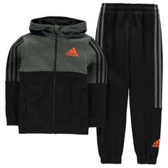 Head over to our online store to see the wide selection of kids tracksuits we have including the adidas 3 Stripe Jogger Suit Junior Boys, order yours now! Little Boy Fashion, Baby Boy Fashion, Kids Fashion, Boys Wedding Suits, Tommy Hilfiger Baby, Adidas Three Stripes, Adidas Tracksuit, Baby Boy Swag, Kids Suits