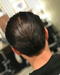Slicked Hair, Barbers, Menu0027s Hair, Male Hair, Ducks, Hair Laid, Guy Hair,  Barbershop, Menu0027s Haircuts