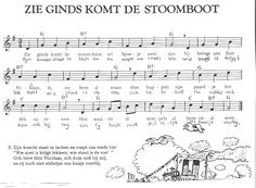 Zie ginds komt de stoomboot Piano, Christmas Carol, Sheet Music, Musicals, Dance, Songs, Keyboard, Fun, Kids
