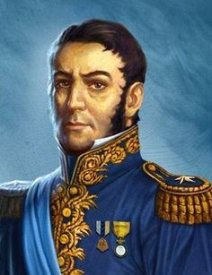 Jose de San Martin of Argentina - fought to liberate South America from Spain. Pierre Auguste Renoir, Gaucho, American War, American History, Der Richter, Famous Historical Figures, Latino Art, Ap Spanish, History Timeline