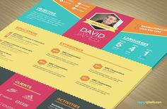 Colorful Stylish Resume and Cover Letter Templates – 3 color sets