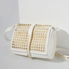 ZARA - NEW THIS WEEK - STUDDED SATCHEL BAG