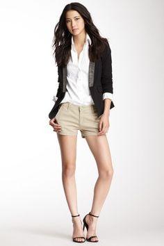 AG Jeans Pixie Khaki Short