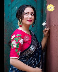 Exceptional and Mind Blowing Blouse Designs with Embroidery – Sayanti Ghosh Designer Studio