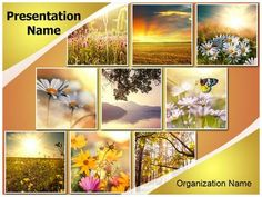 Autumn Season Collage Powerpoint Template Is One Of The Best PowerPoint Templates By EditableTemplates EditableTem