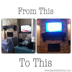 Flat Screen Tvs Stone Fireplaces And Tvs On Pinterest