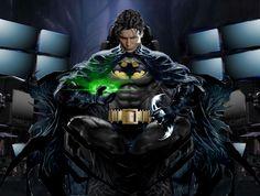 Poster edit for Jason Momoa's Batman