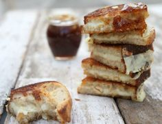 Marcona Almond and Fig Grilled Cheese