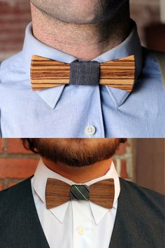 wooden bow ties large pic on Design You Trust