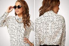 Glasses Shirt = Major want!!!
