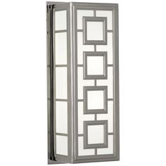 Robert Abbey Jonathan Adler Parker Polished Nickel Wall Sconce S1946