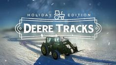 Farmer Uses Tractor To Write A Holiday Greeting In The Snow - Neatorama