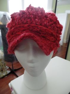My 1st hat I crocheted.