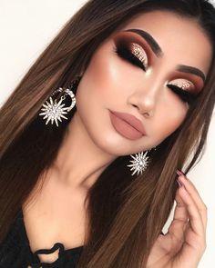 Makeup ideas Halloween – Great Make Up Ideas Makeup Eye Looks, Cute Makeup, Smokey Eye Makeup, Gorgeous Makeup, Pretty Makeup, Eyeshadow Makeup, Maybelline Makeup, Full Face Makeup, Eyeshadows