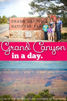 In the Grand canyon adventures are everywhere in such an amazing natural wonder of the world! You can do it in a day! #pullingcurls