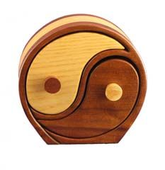 Yin Yang Bandsaw box, created from within one artists mind, to a real tangible gift for someone who understands the beauty.