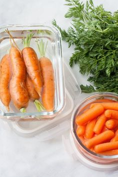 How to store carrots and keep them fresh & crisp - There are a lot of reasons to always have carrots on hand — they're one of the ingredients for mirepoix or stock, make great snacks or crudité, and are inexpensive to buy (even if you choose organic). It's more economical to buy them in packs or bunches, but how can you keep them nice and crisp if you don't plan on using them up in a few days? Here's our easy way.