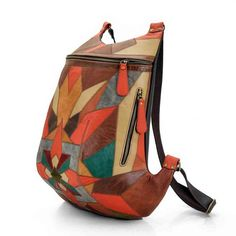 Leather Laptop Backpack, Brown Leather Backpack, Backpack Bags, Cat Bag, Patchwork Bags, Leather Bags Handmade, Fabric Bags, Knitted Bags, Luxury Bags
