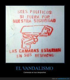 EL VANDALISMO
