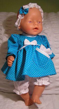 Puppenkleidung-Set 3 Tlg. NEU Baby Born, Krümel, Chou Chou, JakoO Gr. 43 cm