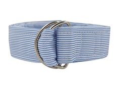 Introducing Blue Stripe DRing Silk Ribbon Belt. Great Product and follow us to get more updates!