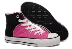Womens-Converse-classic-SB-shoes-pink-black