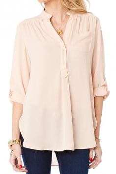 Pure Colora Blouse in Beige