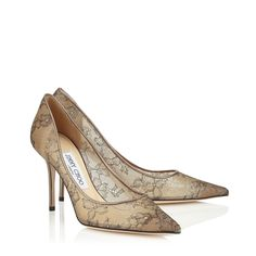 f263aad84671 Agnes Pointy Toe Pumps in Light Honey Metallic Lace. Discover our Pre Fall  15 Collection and shop the latest trends today.