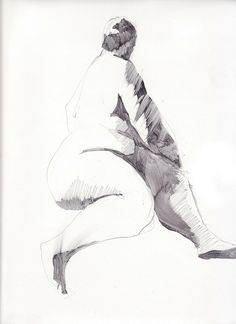 life drawing 3- Karen Darling