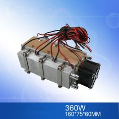 12V 360W Semiconductor core small air conditioner water cooled cooling conditioner cold air fan Space cooling radiator