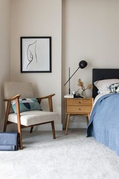 Mid Century Bedroom Lamps Fresh 5 Inspiring Ways Of Using A Mid Century Chair In Your Home Decor, Interior, Wall Decor Bedroom, Home Decor, Bedroom Wall, Bedroom Night Stands, Interior Design, Interior Design Bedroom, Master Bedroom Wall Decor