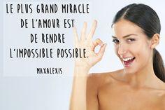 Citation amour impossible de Maxalexis