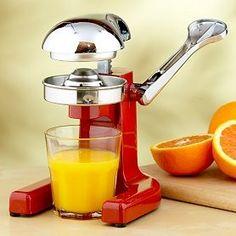 Old manual juicer