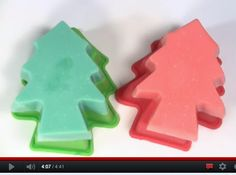 Fun and safe craft for kids - jelly soap.  Video tutorial from Soaping101.