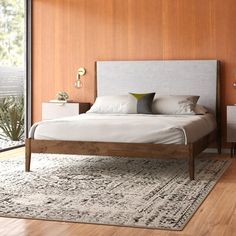 💥🔥 Now, Buy this amazing Platform Bed from Ganpati Arts with a Discount. It is made up of Solid Sheesham Wood. Wood And Upholstered Bed, Upholstered Platform Bed, Modern Wood Bed, Modern Beds, Bedroom Furniture Online, Wooden Bedroom, Platform Bed Frame, King Platform Bed, Modern Platform Bed