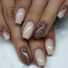 26 Trending Fall Nails for 2018 – FAVHQ.DE – Beautiful nails – # case # nails # Beautiful - New Sites Fancy Nails, Trendy Nails, My Nails, Pink Nails, Beige Nails, Brown Nails, Sns Nails Colors, Fall Nail Colors, Winter Nails Colors 2019