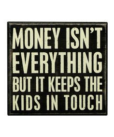 Loving this 'Kids in Touch' Wall Sign on #zulily! #zulilyfinds