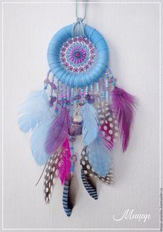 Купить Подвеска в голубом цвете с аметистом S k y B l u e