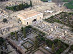 Vista aérea Palacio Abd al-Rahman III