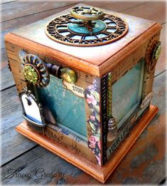 Steampunk Box with Tracey G.