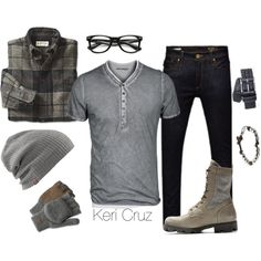Rugged Winter by keri-cruz on Polyvore featuring Jack Jones and Maison Margiela | Raddest Men's Fashion Looks On The Internet: http://www.raddestlooks.org