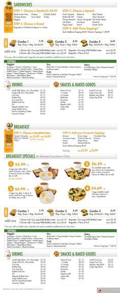 Soup It Up menu #2