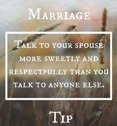 Talk more kindly to your partner than you talk to anyone else. #happymarriage #kindness #loves #communication #blendedfamily #stepmom #stepparents #jennakorf #stepmomhelp #stepmomcoach