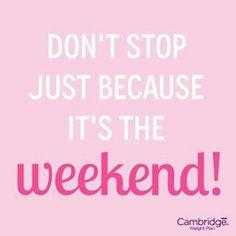 Weekend goals #cwp