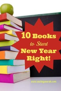 10 Books to Start New Year Right. Get it going on the right foot. #books #newyear